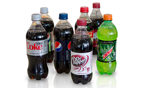 Carbon dioxide in soft drinks