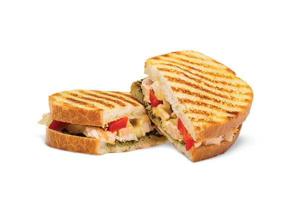 Bros CopyCat Italian Chicken Panini: grilled chicken with italian ...