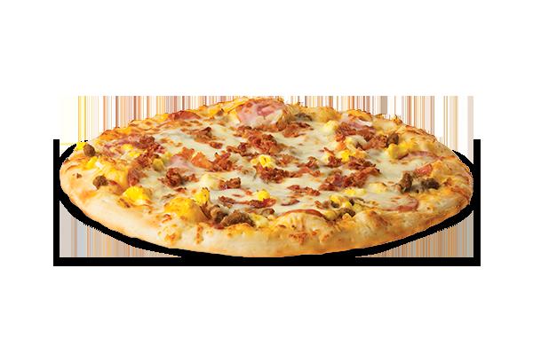 Large Breakfast Pizza