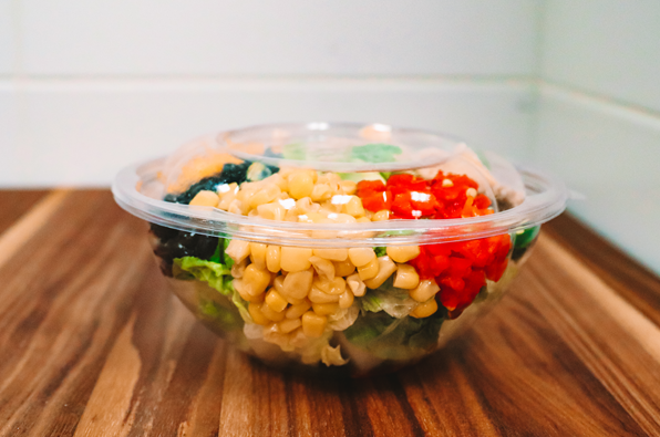 Kum & go's new line of cutlery, salad bowls & lids will be made with 100% renewable resources