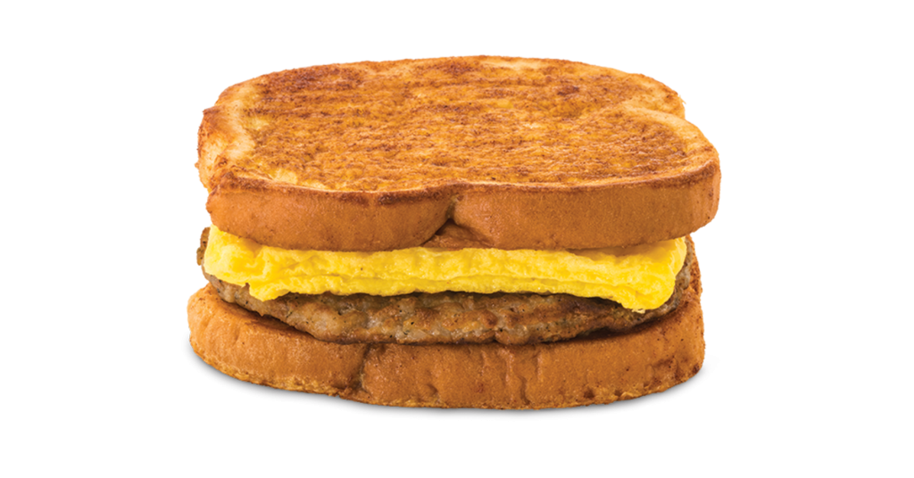 sausage egg on french toast